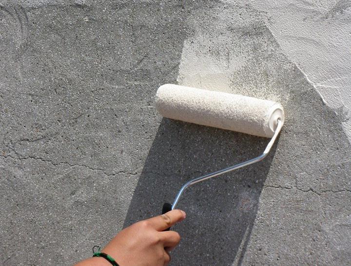Красят ли бетон чистый бетон гель