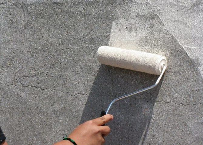 Химическая окраска бетона утрясти бетон