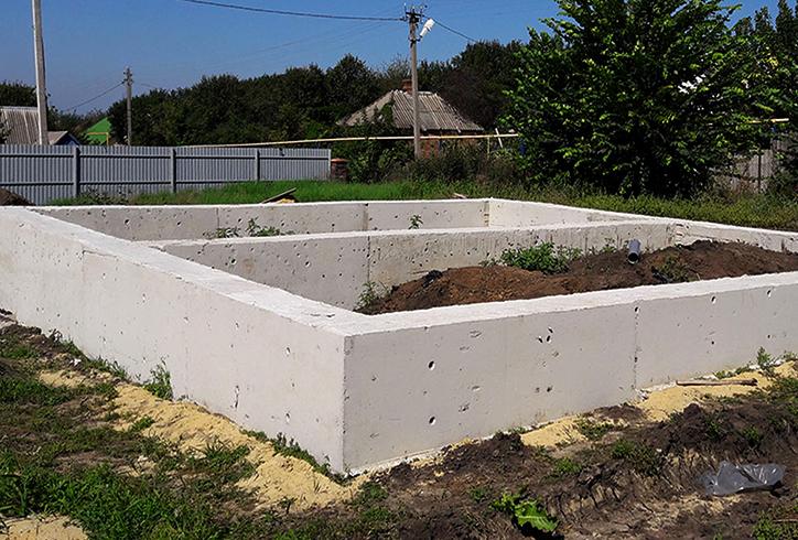 Цоколь бетона расширяемый бетон
